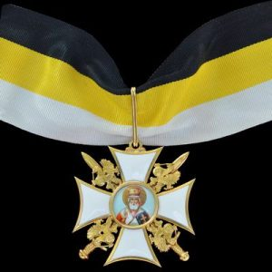 "Фото Insignia ""Imperial Military Order of St. Nicholas the Wonderworker"" II dg."