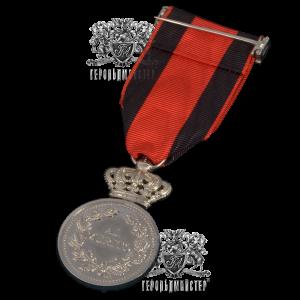 Фото Медаль «AL MERITO» ІІ ступеня