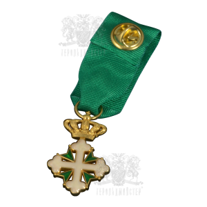 Фото Miniature of the Order of Saints Mauritius & Lazarus