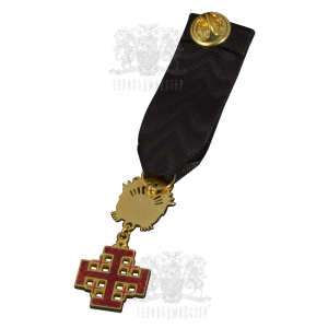 Фото Miniature of the Equestrian Order of Holy Sepulchre