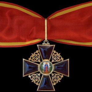 Фото Знак «Імператорського ордена Святої Анни» ІІ степени
