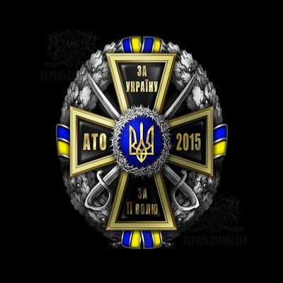 Фото Нагрудный знак «За Украину, За её Волю-АТО 2015»