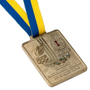 "Фото Medal ""Championship of NAVD – I place"""