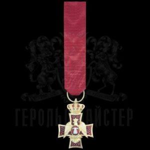 Фото Мініатюра нагрудного знаку «Ордена Орла Грузії і нетлінної плащаниці»