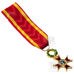 Фото Miniature of the Order of Saint Gragory the Great