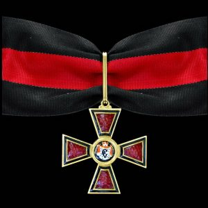 "Фото Insignia ""Imperial Order of Saint Equal-to-the-Apostles Prince Vladimir"" IІ dg."