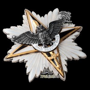 Фото Нагрудний знак «Зірка Слави» II ступеня