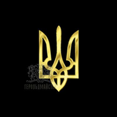 """Фото Значок """"Тризуб литой"""""""