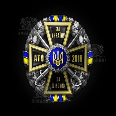 Фото Нагрудный знак «За Украину, За её Волю-АТО 2016»