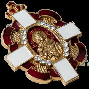 Фото Нагрудный знак «Святая Варвара» І степени