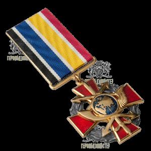 Фото Нагрудный знак «Войска связи ВСУ»