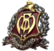 "Фото Badge ""Trident with sword"""