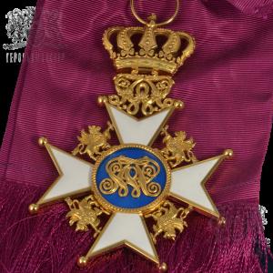 Фото Нашейный крест Ордена Вендской Короны