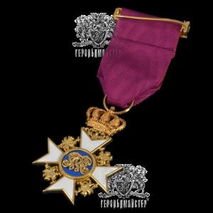 Фото Нагрудный крест Ордена Вендской Короны