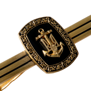 "Фото Tie clip ""Naval Forces of Ukraine"""