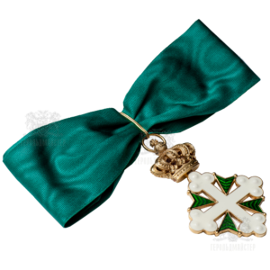 Фото Neck cross of the Order of Saints Mauritius & Lazarus