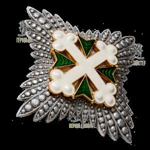 Фото Зірка Ордена Святих Моврікія та Лазаря
