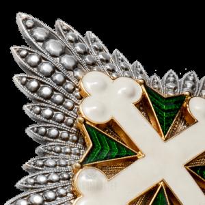 Фото Звезда Ордена Святых Маврикия и Лазаря