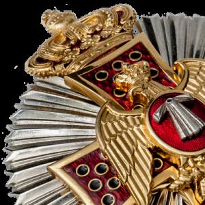 Фото Зірка Лицара «Ордена Орла Грузії і нетлінної плащаниці» (KCEG)