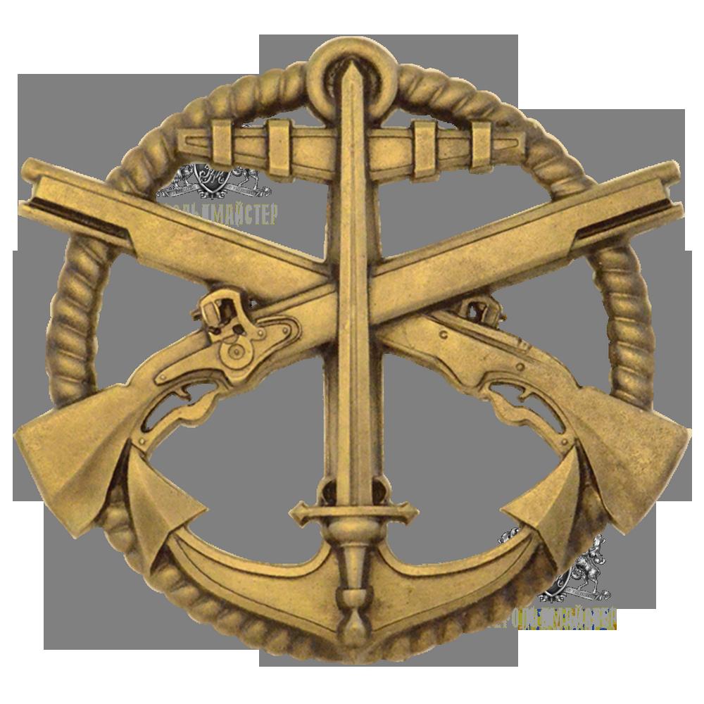 Фото Беретний знак Морська Піхота (незатверджений варіант)