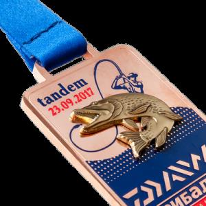 Фото Медаль «Daiwa tandem-мідь»