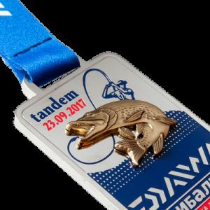 """Фото Medal """"Daiwa tandem-nickel"""""""
