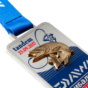 Фото Медаль «Daiwa tandem-никель»
