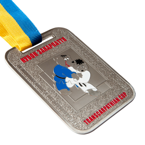 Фото Медаль «Международный турнир по дзюдо-никель»