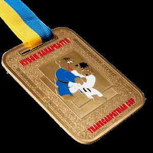Фото Медаль «Міжнародний турнір з дзюдо-золото»
