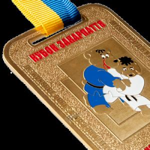 "Фото Medal ""International Judo Tournament-gold"""