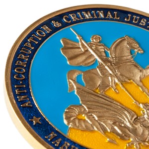 "Фото Medal ""Anti-corruption and Criminal Justice Reform"""