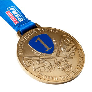 "Фото Medal ""Yaroslav Yakovenko tournament-gold"""
