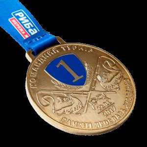 Фото Медаль «Турнир Ярослава Яковенко-золото»