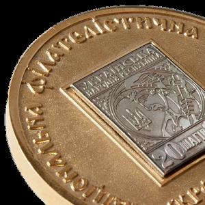 """Фото Medal """"Ukrfilex-nickel"""""""