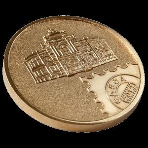 Фото Медаль «Укрфілексп-золото»