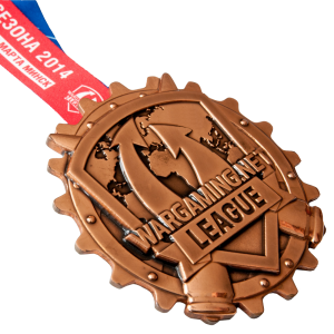 "Фото Medal ""WARGAMING.NET – copper"""