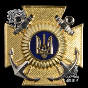 Фото Знак на кашкет для Військово-Морських Сил