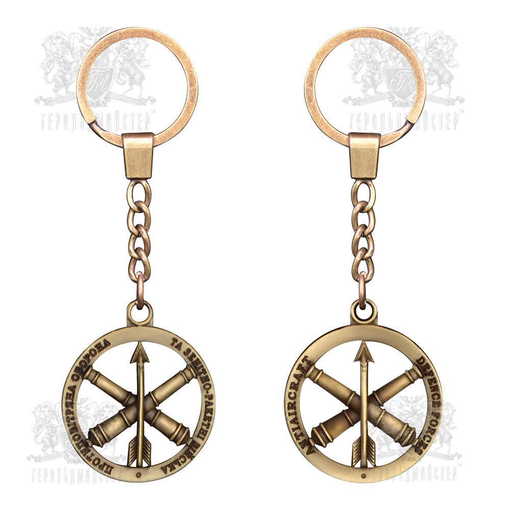 "Фото Keychain ""Antiaircraft defence forces"""