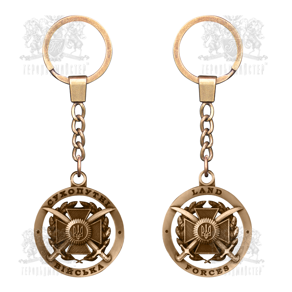 "Фото Keychain ""Land forces"""