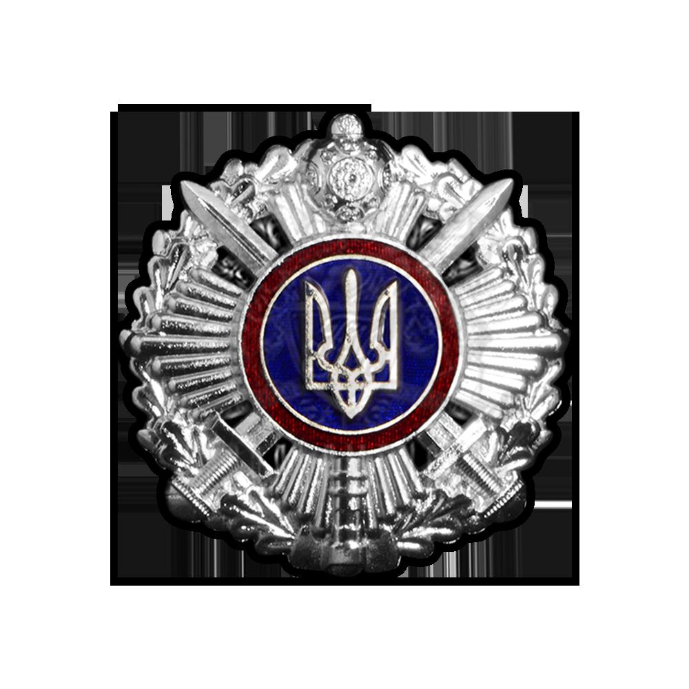 Фото Кокарда Управления государственной охраны Украины