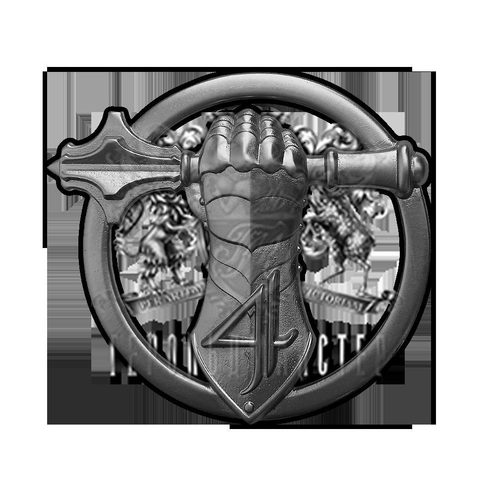 Фото Беретный знак 4-й бригады оперативного назначения Национальной гвардии Украины, танковый батальон