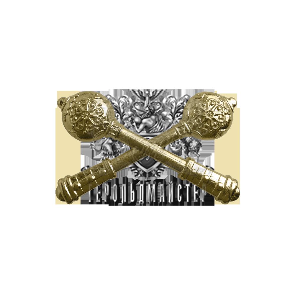 Фото Булавы на погон для высшего офицерского состава (генералов) ВСУ, позолота