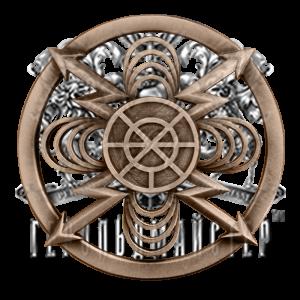 Фото Беретний знак радіотехнічних військ та військ зв'язку
