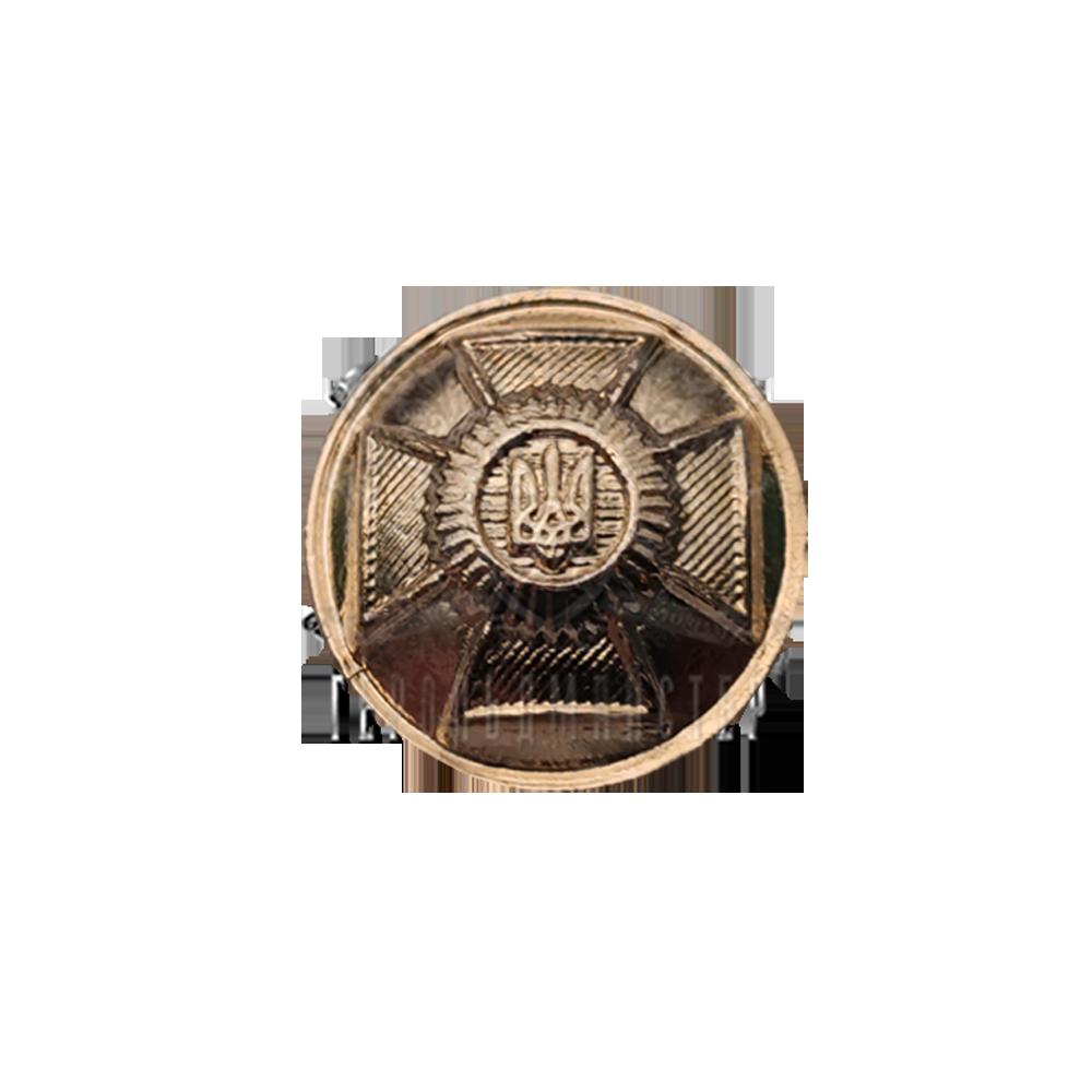 Фото Пуговицы форменные металлические (для погон парадной формы одежды, Вид 1)