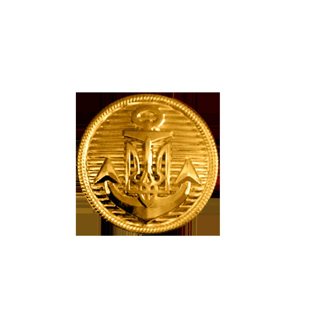Фото Пуговицы форменные металлические (для погон парадной формы одежды, Вид 2)