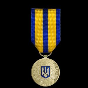 Фото Юбилейная нагрудная медаль «30 лет Независимости Украины»